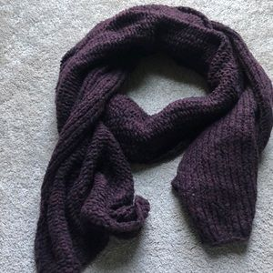 Free people oversized crocheted scarf